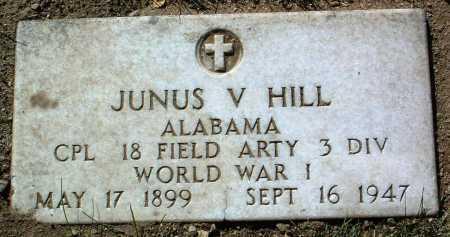HILL, JUNUS V. - Yavapai County, Arizona | JUNUS V. HILL - Arizona Gravestone Photos