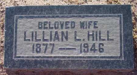 HILL, LILLIAN L. - Yavapai County, Arizona | LILLIAN L. HILL - Arizona Gravestone Photos