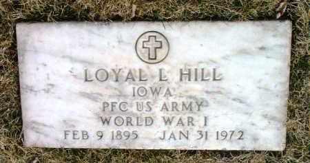HILL, LOYAL L. - Yavapai County, Arizona   LOYAL L. HILL - Arizona Gravestone Photos