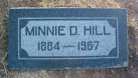 HILL, MINNIE BELLE - Yavapai County, Arizona | MINNIE BELLE HILL - Arizona Gravestone Photos