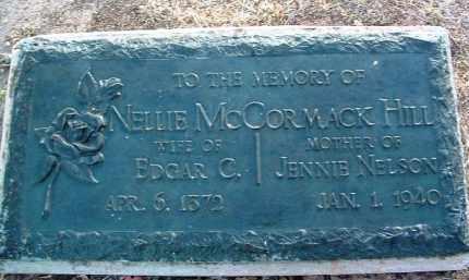 MCCORMACK HILL, NELLIE - Yavapai County, Arizona | NELLIE MCCORMACK HILL - Arizona Gravestone Photos