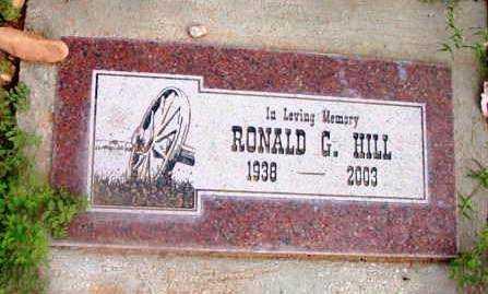 HILL, RONALD GILMORE - Yavapai County, Arizona | RONALD GILMORE HILL - Arizona Gravestone Photos