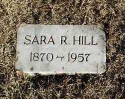 HILL, SARA R. - Yavapai County, Arizona | SARA R. HILL - Arizona Gravestone Photos