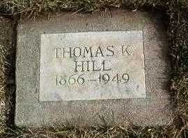 HILL, THOMAS KIRBY - Yavapai County, Arizona | THOMAS KIRBY HILL - Arizona Gravestone Photos