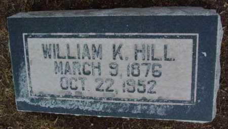 HILL, WILLIAM KENNEDY - Yavapai County, Arizona | WILLIAM KENNEDY HILL - Arizona Gravestone Photos