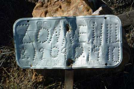 HILL, ZONA ELIZABETH - Yavapai County, Arizona | ZONA ELIZABETH HILL - Arizona Gravestone Photos