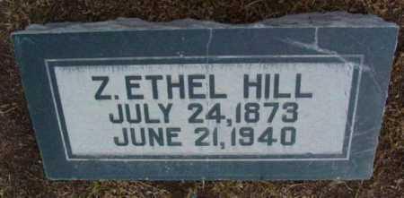 HILL, Z. ETHEL - Yavapai County, Arizona | Z. ETHEL HILL - Arizona Gravestone Photos