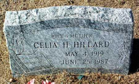 WISE HILLARD, CELIA H. - Yavapai County, Arizona | CELIA H. WISE HILLARD - Arizona Gravestone Photos