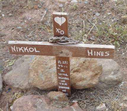HINES, NIKKOL - Yavapai County, Arizona | NIKKOL HINES - Arizona Gravestone Photos