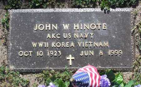 HINOTE, JOHN WILLIAM - Yavapai County, Arizona | JOHN WILLIAM HINOTE - Arizona Gravestone Photos