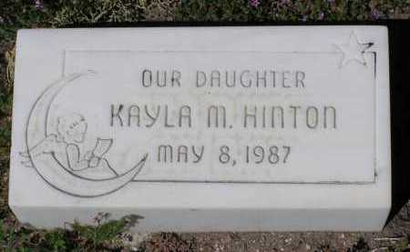 HINTON, KAYLA M. - Yavapai County, Arizona | KAYLA M. HINTON - Arizona Gravestone Photos