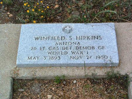 HIPKINS, WINFIELD SCOTT - Yavapai County, Arizona   WINFIELD SCOTT HIPKINS - Arizona Gravestone Photos