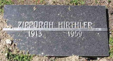 AKENS HIRTHLER, ZIPPORAH - Yavapai County, Arizona   ZIPPORAH AKENS HIRTHLER - Arizona Gravestone Photos