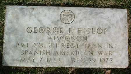 HISLOP, GEORGE F. - Yavapai County, Arizona | GEORGE F. HISLOP - Arizona Gravestone Photos