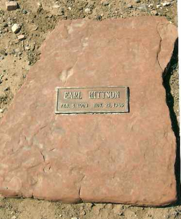 HITTSON, EARL - Yavapai County, Arizona | EARL HITTSON - Arizona Gravestone Photos