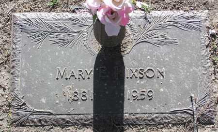 HIXON, MARY E. - Yavapai County, Arizona | MARY E. HIXON - Arizona Gravestone Photos