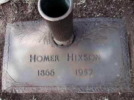 HIXSON, HOMER - Yavapai County, Arizona | HOMER HIXSON - Arizona Gravestone Photos