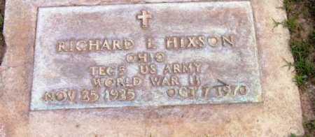 HIXSON, RICHARD LEE - Yavapai County, Arizona | RICHARD LEE HIXSON - Arizona Gravestone Photos
