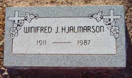 HJALMARSON, WINFRED - Yavapai County, Arizona   WINFRED HJALMARSON - Arizona Gravestone Photos