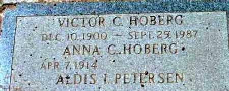 HOBERG, ANNA C. - Yavapai County, Arizona   ANNA C. HOBERG - Arizona Gravestone Photos