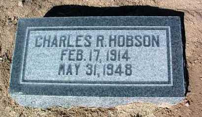 HOBSON, CHARLES R. - Yavapai County, Arizona | CHARLES R. HOBSON - Arizona Gravestone Photos