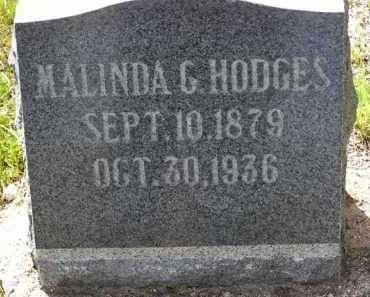 HODGES, MALINDA G. - Yavapai County, Arizona | MALINDA G. HODGES - Arizona Gravestone Photos
