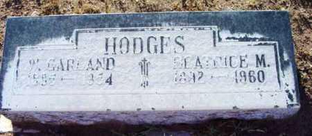 HODGES, WALTER GARLAND - Yavapai County, Arizona | WALTER GARLAND HODGES - Arizona Gravestone Photos