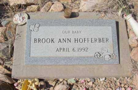 HOFFERBER, BROOK ANN - Yavapai County, Arizona   BROOK ANN HOFFERBER - Arizona Gravestone Photos