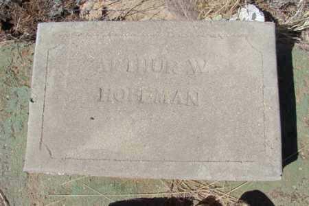 HOFFMAN, AUTHUR W. - Yavapai County, Arizona | AUTHUR W. HOFFMAN - Arizona Gravestone Photos