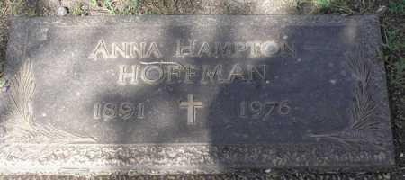 HOFFMAN, ANNA - Yavapai County, Arizona   ANNA HOFFMAN - Arizona Gravestone Photos