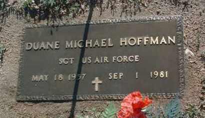 HOFFMAN, DUANE MICHAEL - Yavapai County, Arizona   DUANE MICHAEL HOFFMAN - Arizona Gravestone Photos