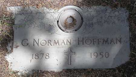HOFFMAN, GEORGE NORMAN - Yavapai County, Arizona | GEORGE NORMAN HOFFMAN - Arizona Gravestone Photos