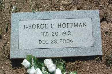 HOFFMAN, GEORGE CRIST - Yavapai County, Arizona | GEORGE CRIST HOFFMAN - Arizona Gravestone Photos