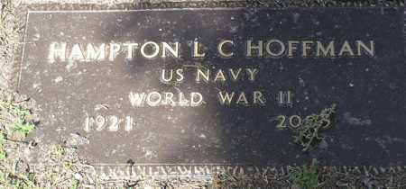 HOFFMAN, HAMPTON L. C. - Yavapai County, Arizona   HAMPTON L. C. HOFFMAN - Arizona Gravestone Photos