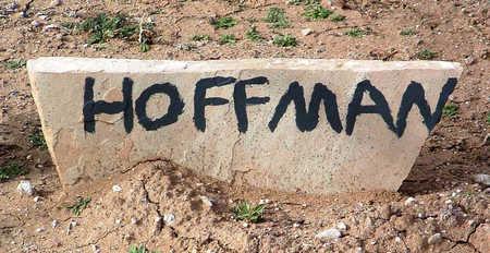 HOFFMAN, UNKNOWN - Yavapai County, Arizona | UNKNOWN HOFFMAN - Arizona Gravestone Photos