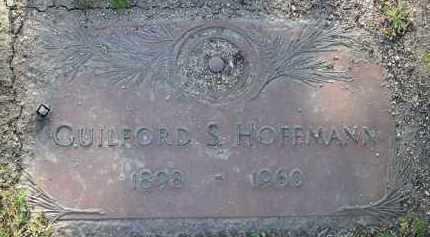 HOFFMANN, GUILFORD S. - Yavapai County, Arizona   GUILFORD S. HOFFMANN - Arizona Gravestone Photos