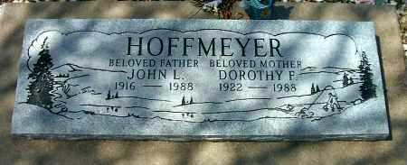 HOFFMEYER, JOHN L. - Yavapai County, Arizona | JOHN L. HOFFMEYER - Arizona Gravestone Photos