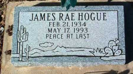 HOGUE, JAMES RAE - Yavapai County, Arizona | JAMES RAE HOGUE - Arizona Gravestone Photos
