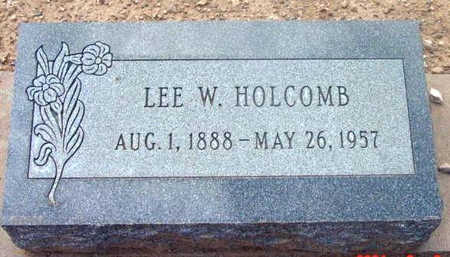 HOLCOMB, LEE WEBSTER - Yavapai County, Arizona   LEE WEBSTER HOLCOMB - Arizona Gravestone Photos