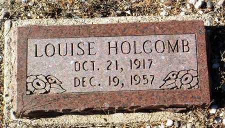 BROWN HOLCOMB, LOUISE - Yavapai County, Arizona | LOUISE BROWN HOLCOMB - Arizona Gravestone Photos