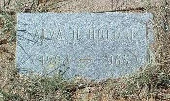 HOLDER, ALVA H. - Yavapai County, Arizona | ALVA H. HOLDER - Arizona Gravestone Photos