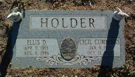HOLDER, ELLIS DUDE - Yavapai County, Arizona | ELLIS DUDE HOLDER - Arizona Gravestone Photos