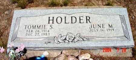 HOLDER, JUNE M. - Yavapai County, Arizona   JUNE M. HOLDER - Arizona Gravestone Photos