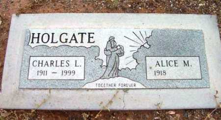 HOLGATE, ALICE M. - Yavapai County, Arizona | ALICE M. HOLGATE - Arizona Gravestone Photos