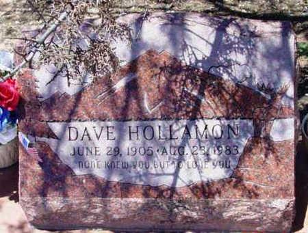 HOLLAMON, DAVE - Yavapai County, Arizona | DAVE HOLLAMON - Arizona Gravestone Photos