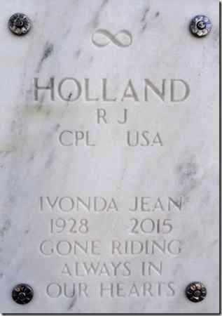 HOLLAND, IVONDA JEAN - Yavapai County, Arizona | IVONDA JEAN HOLLAND - Arizona Gravestone Photos