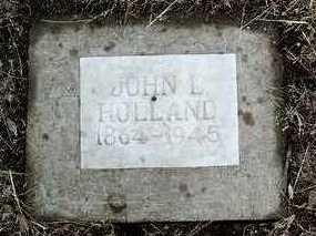 HOLLAND, JOHN L. (JACK) - Yavapai County, Arizona | JOHN L. (JACK) HOLLAND - Arizona Gravestone Photos