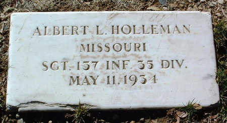 HOLLEMAN, ALBERT L. - Yavapai County, Arizona | ALBERT L. HOLLEMAN - Arizona Gravestone Photos