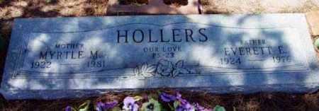 HOLLERS, EVERETT E. - Yavapai County, Arizona | EVERETT E. HOLLERS - Arizona Gravestone Photos