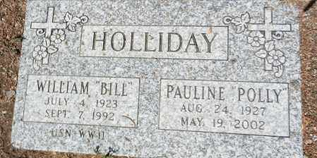 HOLLIDAY, WILLIAM EIGEME  (BILL) - Yavapai County, Arizona | WILLIAM EIGEME  (BILL) HOLLIDAY - Arizona Gravestone Photos